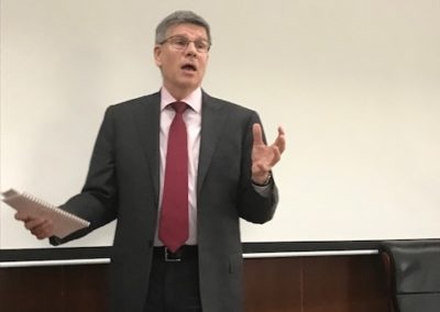 Bill Kirby at Tsinghua